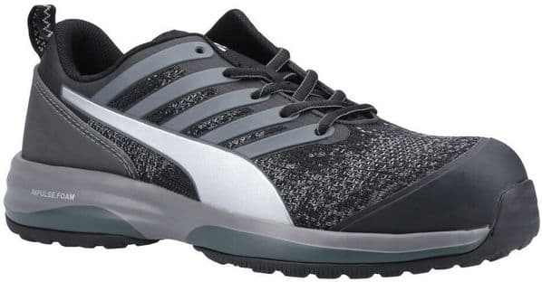 Puma Safety Charge Low Trainers Safety Black